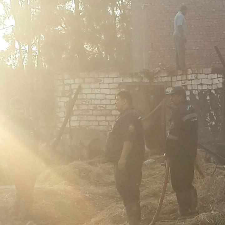 أهالي «درين» بالدقهلية يطالبون بتوفير سيارات إطفاء وإسعاف القرية