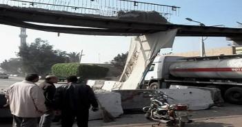 أهالي «ميت ناجي» يطالبون بكوبري مشاه لتكرار الحوادث على طريق القاهرة ـ المنصورة