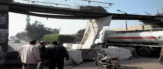 أهالي «ميت ناجي» يطالبون بكوبري مشاه بسبب حوادث طريق القاهرة ـ المنصورة