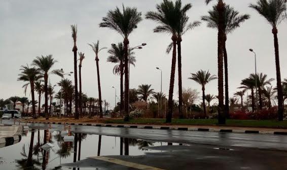 ⛈أمطار وبرق ورعد بشرم الشيخ (صورة)