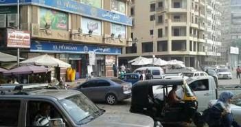سكان منطقة «الحرفيين »يشكون الزحام وتقاعس رجال المرور عن أداء عملهم (صور)