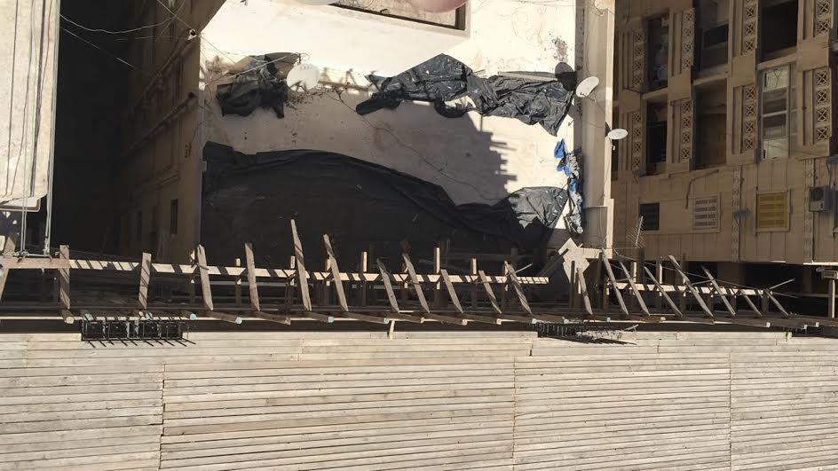مواطني الإسكندرية يشتكون من الإرتفاع المخالف للبناء: عمارة مرخصه 10 أدوار وصلت لـ14(صور)