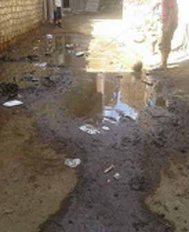 📸مياه الصرف تخترق شوارع ومنازل في «مشيرف» بالمنوفية