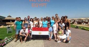شركات سياحة سلوفاكية تدعم مصر برحلات مجانية للغردقة والأقصر ..«مصر أمان»(صور)
