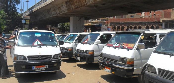 القاهرة| مواطنون يشكون ارتفاع الأجرة على خط «البركة – عزبة النخل»