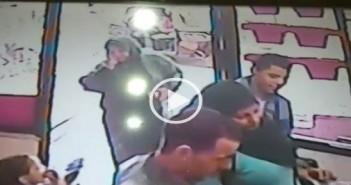 بالفيديو.. كاميرا مراقبة ترصد لحظة سرقة محل ذهب في بشتيل