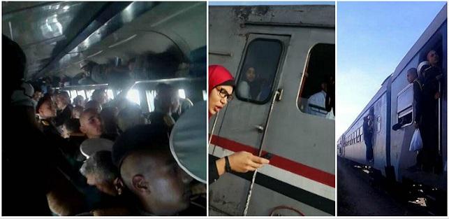 في علبة سلمون.. مطالب بزيادة قطارات بورسعيد – الإسكندرية: 2 يوميًا فقط (صور وفيديو)