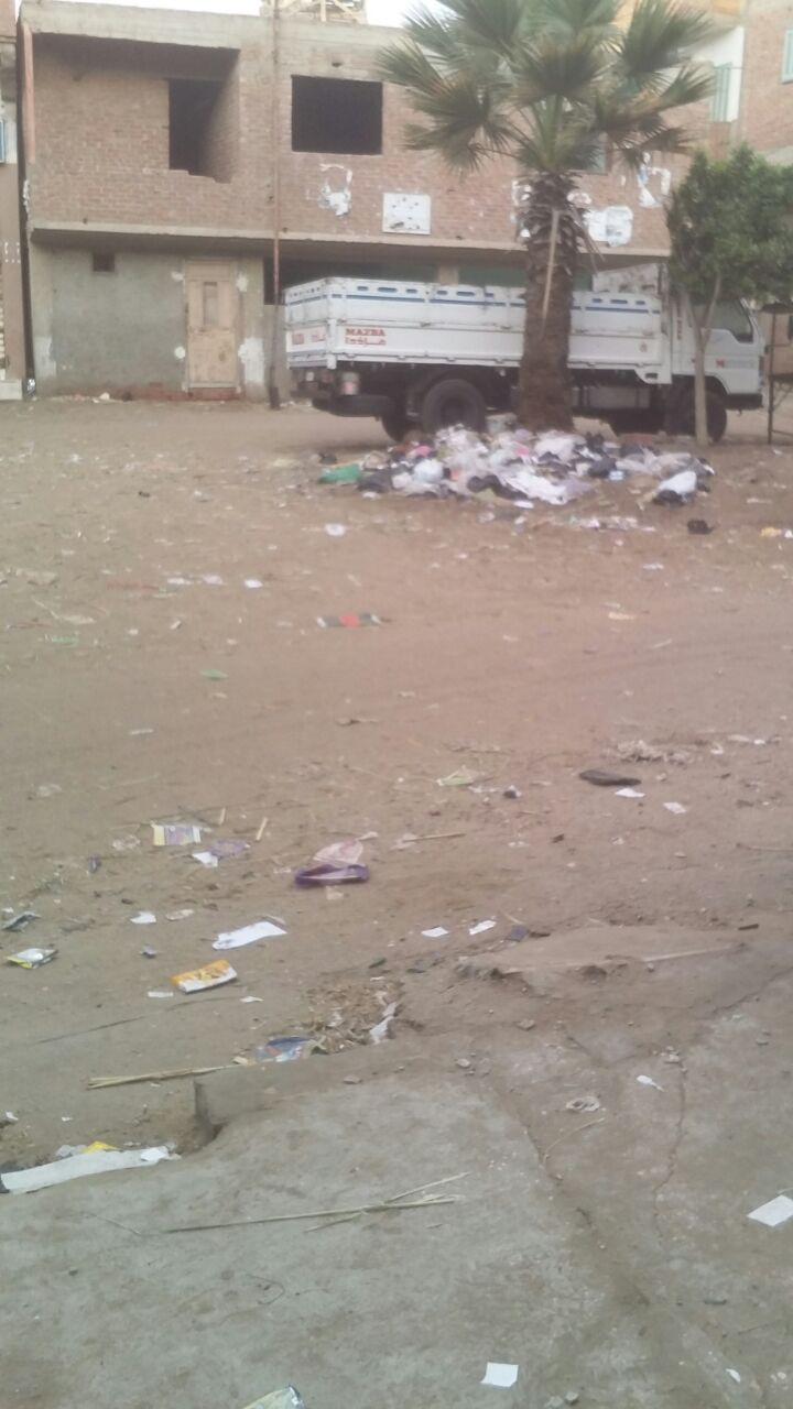 تجمعات للقمامة في «الإبراهيمية البحرية» بدمياط (صور)