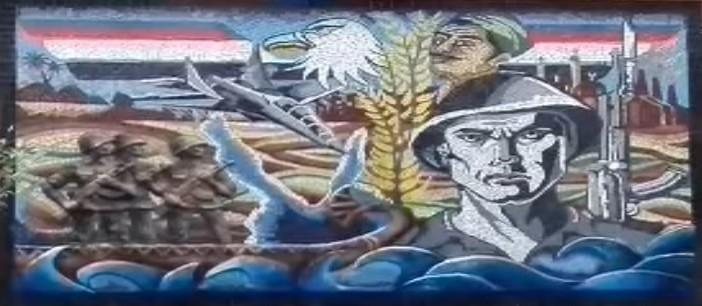 رحلة تدشين مدرسة الشهيد خالد كمال بالإسكندرية لجدارية نصر أكتوبر (فيديو)