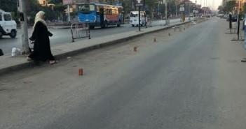 مواطنون يشكون سيطرة البلطجية على ركنات السيارات بجامعة الدول العربية (صور)