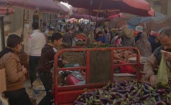 سكان «تقسيم المدينة المنورة» بدمياط يشكون من الأسواق العشوائية (صور)