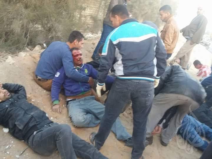 بالصور.. حادث مروع على طريق العبور أنشاص بعد اصطددم أتوبيس وسيارة نصف نقل