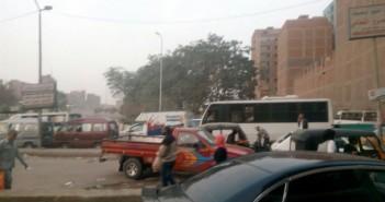 سكان «القومية العربية» يطالبون بدورية أمنية عند كوبري الدائري (صور)