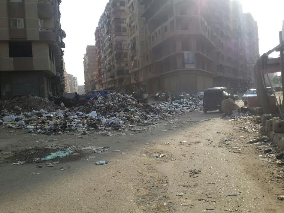 سكان حي «شبرا ثان» يشكون انتشار القمامة والكلاب الضالة (صور)