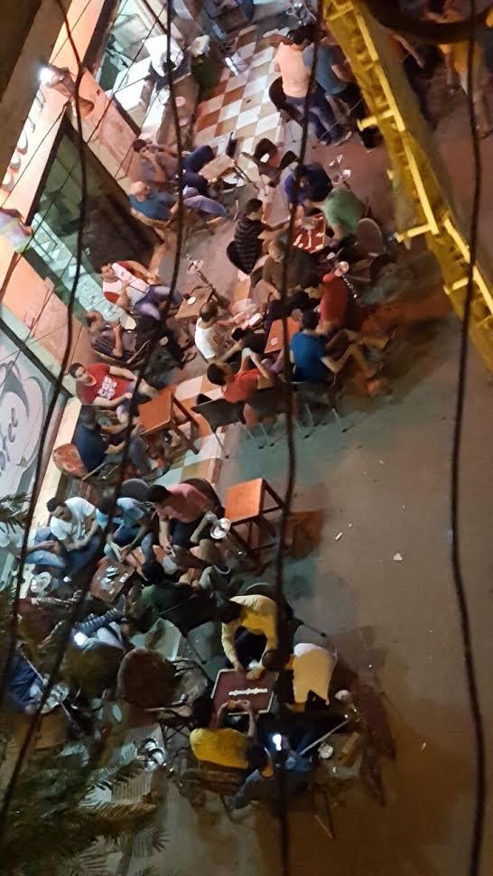 سكان حي «توريل» بالمنصورة يشكون انتشار المقاهي بشكل عشوائي (صور)