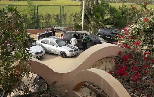 سكان مساكن شيراتون يطالبون بنقل مقر الأكاديمية العربية للنقل (صور)