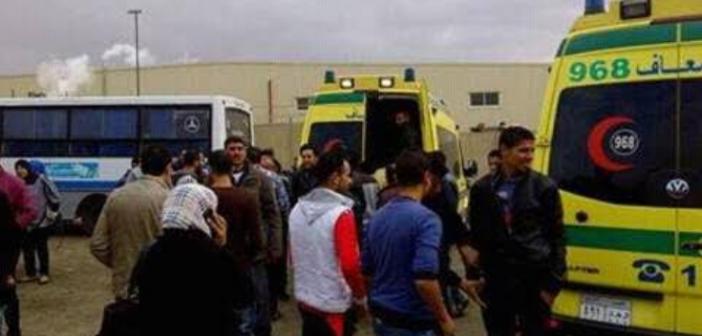 شاهد: تسمم 48 عاملا بمصنع تركي في «العبور» بعد تناولهم وجبة فاسدة (صور وفيديو)