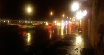 أمطار غزيرة بالإسكندرية