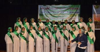 احتفال المولد النبوي بالإسكندرية على مسرح الأنفوشي