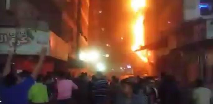 🔥 بالصور.. انفجار أنابيب بوتاجاز في فرن بلدي بجسر السويس