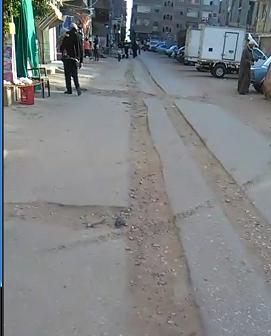 تكسير شوارع في «منية سندوب» دون إصلاحها بعد إدخال الغاز (فيديو وصور)