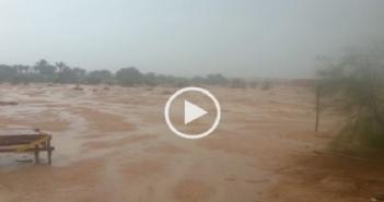 أمطار فى طور سيناء