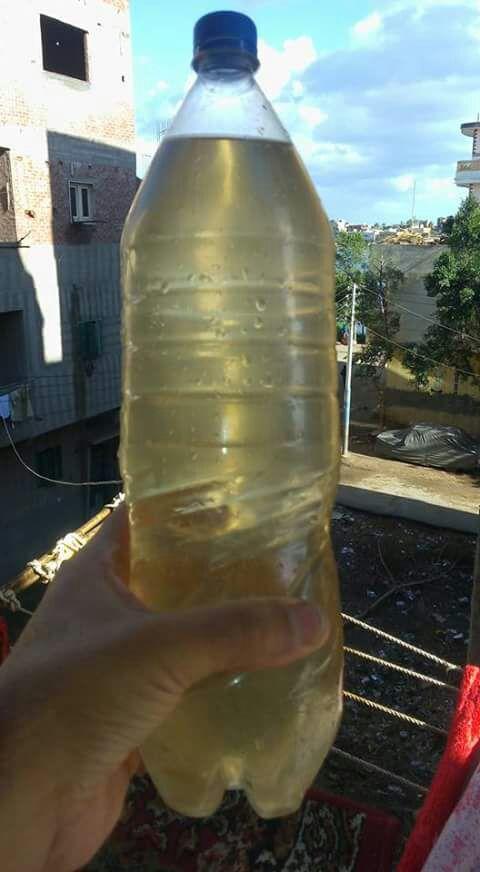 مواطن: تغير لون مياه الشرب في «فزارة» بالبحيرة (صورة)