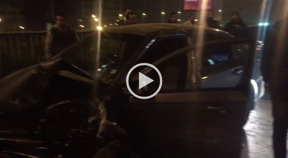 ▶️إصابة 3 فتيات في تصادم على كوبري أكتوبر (فيديو)