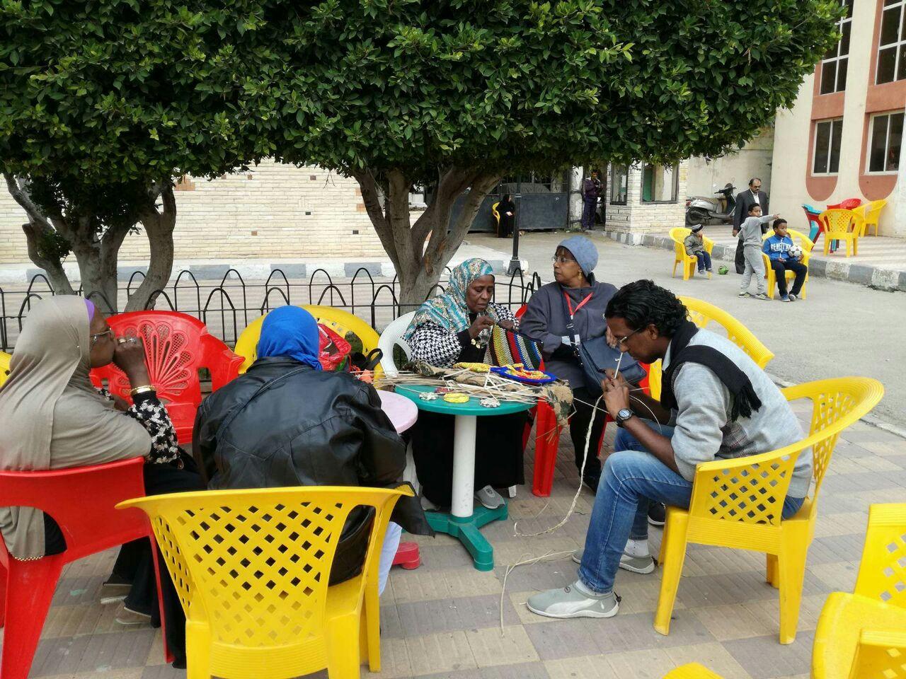 صور.. «بصمة خير» ونادي الكنوز ينظمان يومًا رياضيًا نوبيًا بالإسكندرية