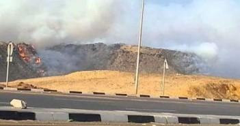 سكان «الواحة» يشكون حرق مخلفات المستشفيات بالقرب من المناطق السكنية (صور)