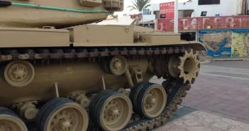 نشر دبابات «حرب الكويت» في شوارع شرم الشيخ خلال مهرجان «كويت السلام – مصر المحبة»