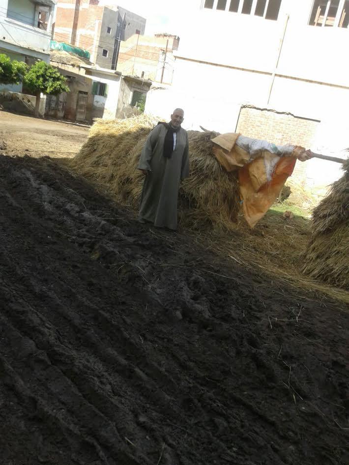 أهالي «كفر السودان» يشكون تحول مخازن التربية والتعليم لحظيرة وسط الكتلة السكنية (صور)