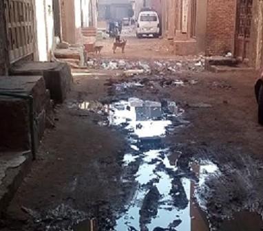 مطالب بشبكة صرف صحي في «حوض صبيح» بالقليوبية (صور)