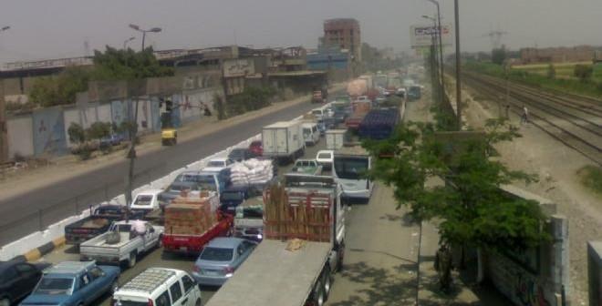 مطالب بتوفير خدمات مرورية على طريق مصر إسكندرية الزراعي