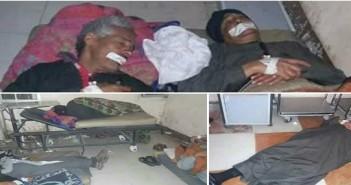 إضراب عمال النظافة في مستشفى إسنا عن الطعام لتأخر مرتباتهم منذ 3 شهور