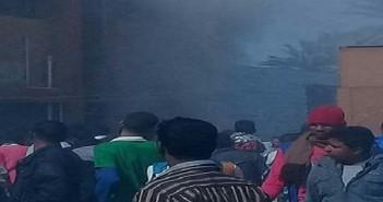 حريق في مدرسة بإحدى قرى إسنا بالأقصر.. و3 سيارات إطفاء تحاول إخماده