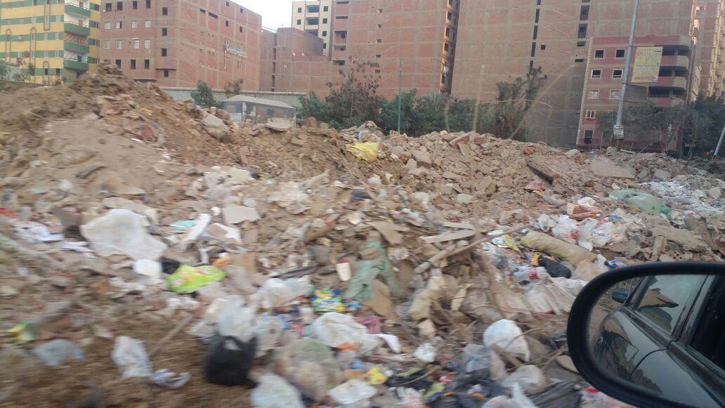 تراكم القمامة في «كعبيش» بالجيزة (صور)
