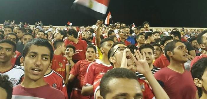 من المدرجات.. أجواء مباراة مصر وسوريا في كأس العالم العسكري (صور)