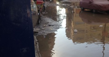 غرق شوارع في «التعاون» بالهرم وسط انتقادات لتجاهل المسؤولين للأزمة