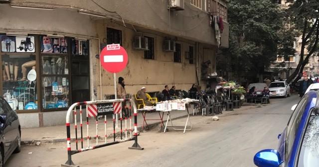 انتقادات لانتشار التعديات في شوارع بالمهندسين (صور)