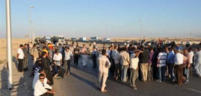 أهالي «شبلنجة» بالقليوبية يطالبون بإعادة رصف طريق القرية