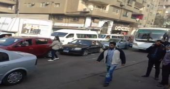 جراج مروري.. تعطل حركة السير عَ المحور وشارع السودان