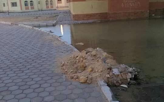 استياء سكان في مشروع «النرجس» بمدينة بدر من مستوى التشطيب (صور)