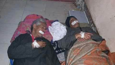 بالصور.. إضراب عمال النظافة في مستشفى إسنا عن الطعام لتأخر مرتباتهم منذ 3 شهور