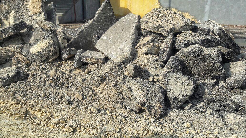 تكسير طريق دسوق – كفر الشيخ: عدم رصفه يُسبب حوادث وزحام مروري (صور)