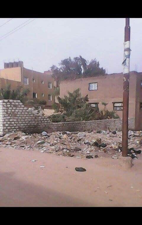أهالي «أولاد حمزة»: ندفع رسوم النظافة شهريا ولا يتم رفعها من الشوارع (صور)