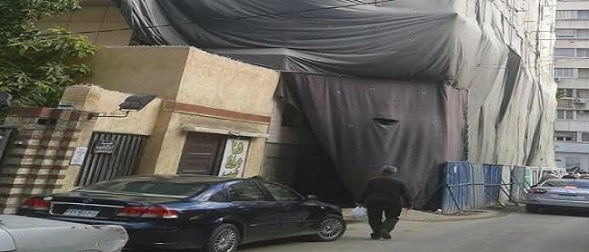 «عمارة الأشباح» بالإسكندرية تنفض غبار الشائعات عنها ببدء ترميمها (صور)