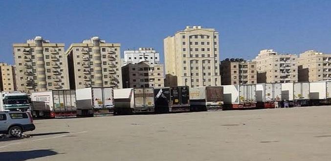مطالب بإلغاء قيود دخول الشاحنات المصرية القادمة من الكويت: «خراب بيوت» (صور)