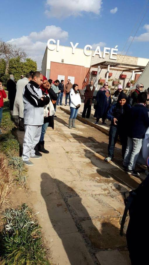 وقفة احتجاجية لسكان في «مدينتي» بسبب عدم توصيل الخدمات (فيديو وصور)