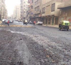 سكان شارعجمال عبد الناصر بالحرفيين يطالبون برفع إشغالاته صورة)